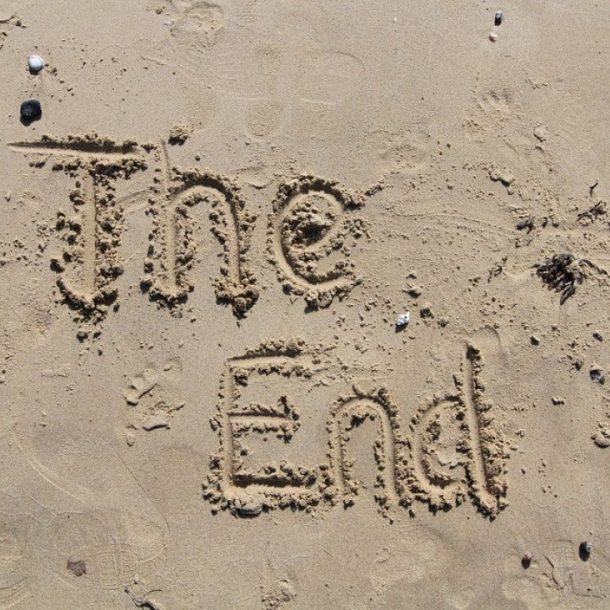 nyaralás vége